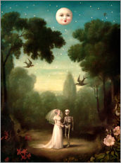 Wall sticker  The dowry of the moon - Stephen Mackey