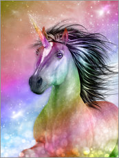 Wall sticker  Unicorn - Be Authentic - Dolphins DreamDesign