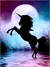 Wall Stickers  Unicorn Magic - Dolphins DreamDesign