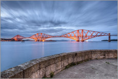 Wall sticker  Edinburgh Forth Bridge - Michael Valjak