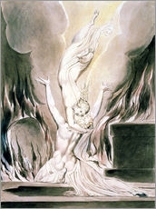 Gallery Print  The Reunion of the Soul and the Body - William Blake