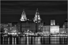 Wall sticker  Liverpool Water Front - Wayne Molyneux