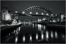 Wall sticker  The Sage and Tyne bridge - Wayne Molyneux