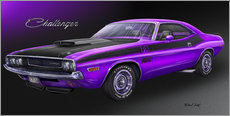 Wall sticker 70 Challenger