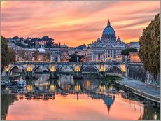Gallery print  Rome in the evening - Jörg Gamroth