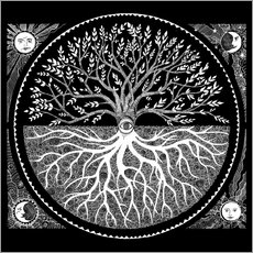 Wall sticker Druid tree of life