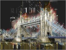 Wall sticker  London Tower Bridge - Peter Roder