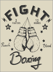 Wall sticker  Fight - Boxing