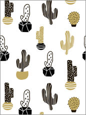 Gallery Print  Cacti pattern