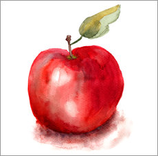 Gallery Print  Sweet apple watercolor