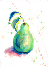 Wall Stickers Sweet pear watercolor