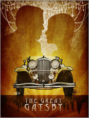 Gallery print  The Great Gatsby - Albert Cagnef