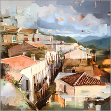 Johnny Morant - Roofs of Sicily