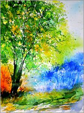 Gallery print  Summer tree - Pol Ledent