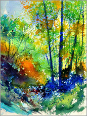 Wall sticker  Forest idyll - Pol Ledent