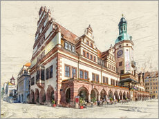 Gallery Print  Leipzig Old Town Hall - Peter Roder