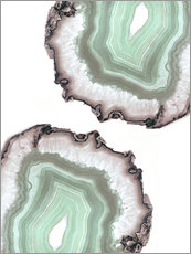 Wall sticker  Light water agate - Emanuela Carratoni