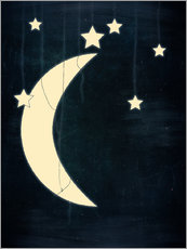 Wall Stickers moon and stars