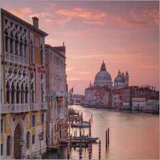 Wall sticker Venice and the grand Canal at sunrise