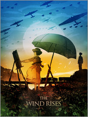 Gallery print  The Wind Rises - Albert Cagnef
