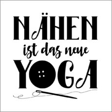 Wall sticker Nähen Yoga