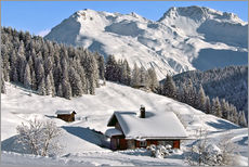Gallery print  Winter landscape, Switzerland - Olaf Protze
