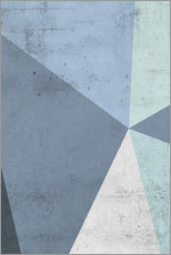 Gallery print  Winter geometry - Emanuela Carratoni