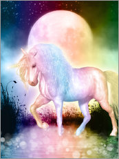 Gallery Print  Unicorn - Love yourself - Dolphins DreamDesign