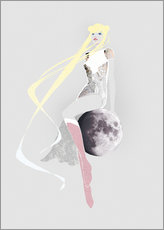 Wall sticker  Sailor Moon - Wadim Petunin