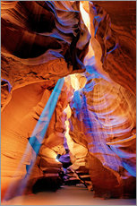 Wall sticker  Upper Antelope Canyon Beam - Michael Rucker