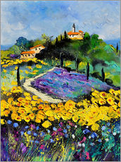 Wall sticker  Landscape in Provence - Pol Ledent
