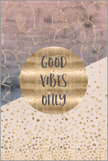Wall sticker Good vibes only