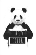 Gallery print  I need color - Balazs Solti