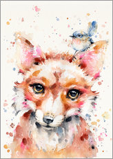 Gallery print  Little Fox - Sillier Than Sally