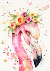 Gallery print  Little flamingo - Sillier Than Sally