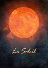 Wall sticker  Le Soleil - Mandy Reinmuth