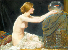 Wall sticker  The fish bowl - Albert Henry Collings
