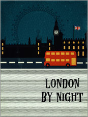 Wall Stickers London by Night