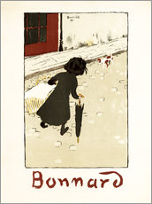 Gallery print  The Little Laundress - Pierre Bonnard