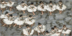 Wall sticker  The ballet - Pierre Bonnard