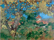 Gallery print  The House in Grand-Lemps - Pierre Bonnard