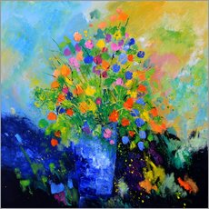 Gallery Print  Colorful still life - Pol Ledent
