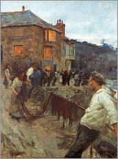 Gallery print  The wharf in Newlyn - Stanhope Alexander Forbes