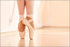 Gallery Print  Legs of the ballerina