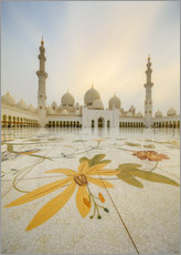 Courtyard of Sheikh Zayed Grand Mosque