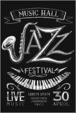 Wall sticker Jazz Festival