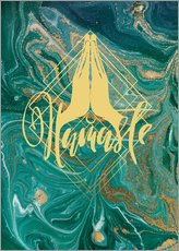 Wall sticker  Namaste - Mandy Reinmuth
