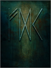 Wall sticker runes: hope
