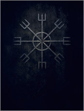 Wall Stickers  Runes:  Ginnir, divine and demonical - Sybille Sterk