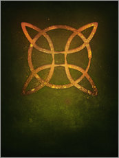 Gallery Print  Runes: warding off witches - Sybille Sterk